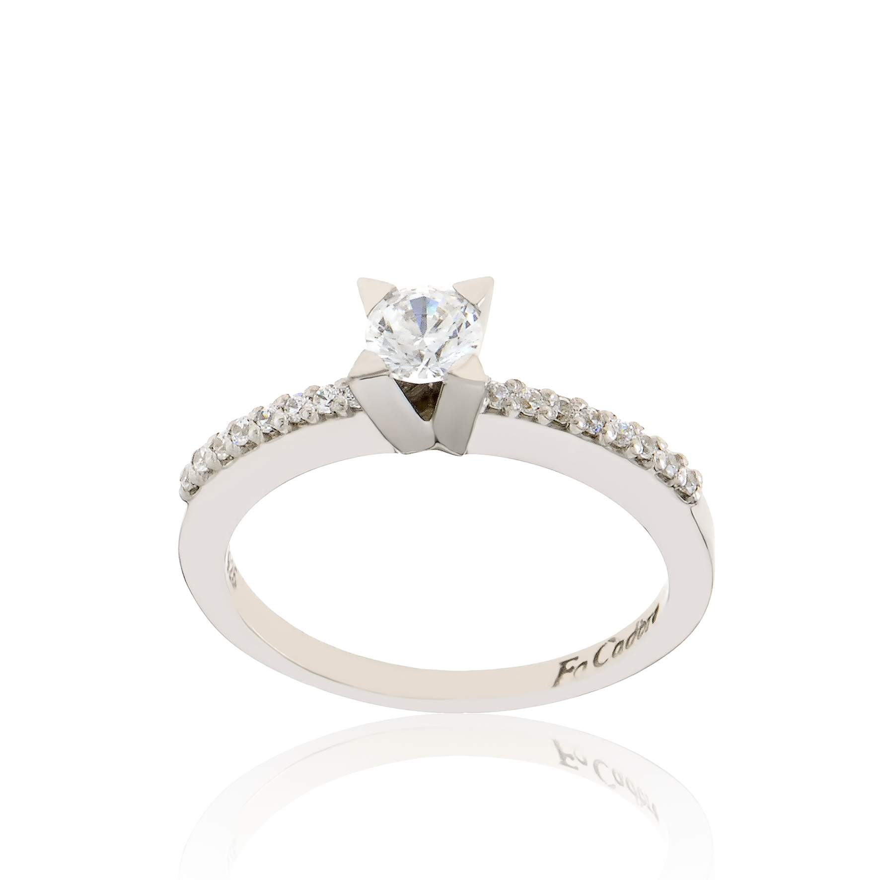 Stunning engagement rings by FaCad'oro