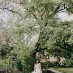 Next day φωτογράφιση με νυφικό Madame Shou Shou στο Βοτανικό Κήπο