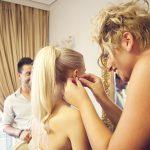 Νυφικό μακιγιάζ για vintage γάμο