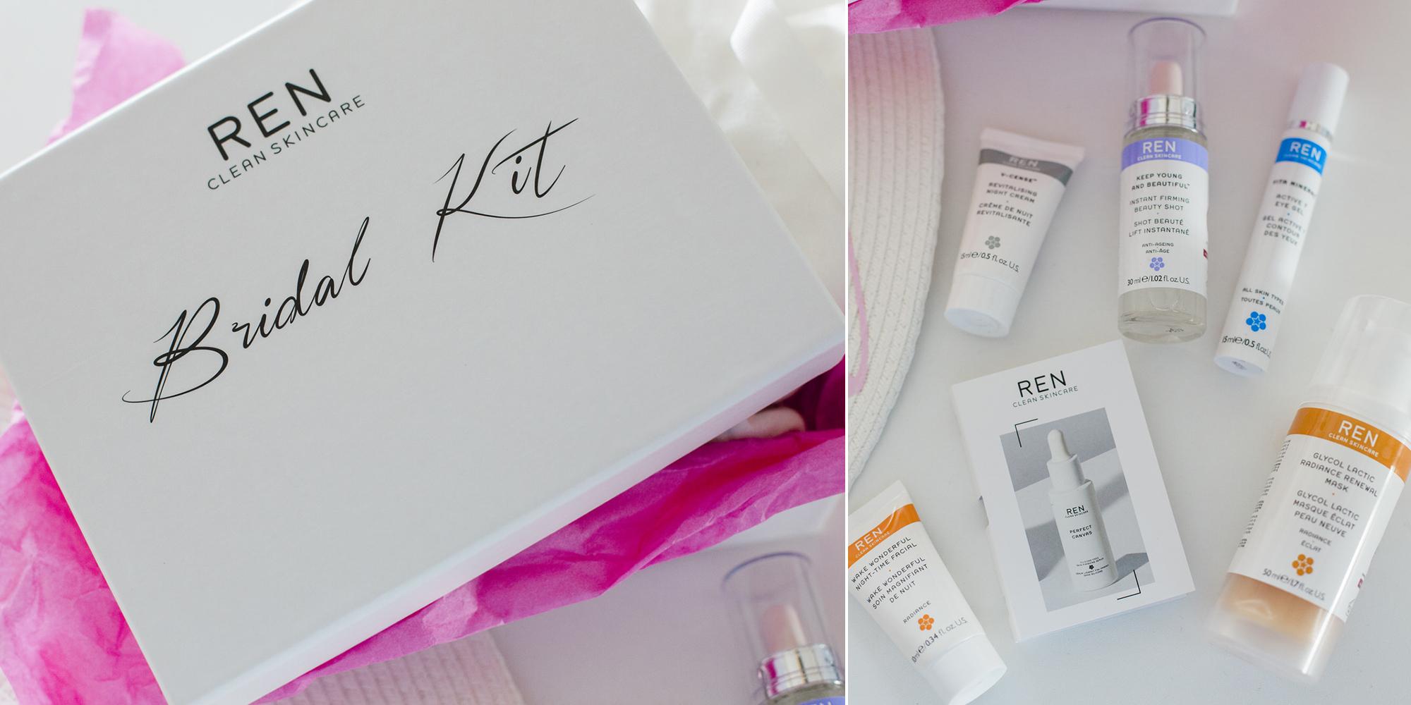 Ren Skin care κουτί για τη νύφη