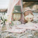 ξεχωριστός στολισμός γάμου στην παραλία