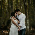 Pre wedding φωτογράφιση στο Παγγαίο όρος