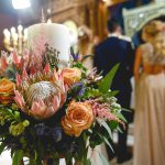 Boho wedding in Athens in pink shades