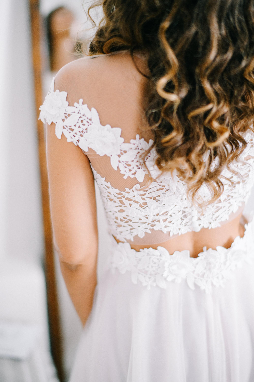 Bridal fashion shoot in Mykonos