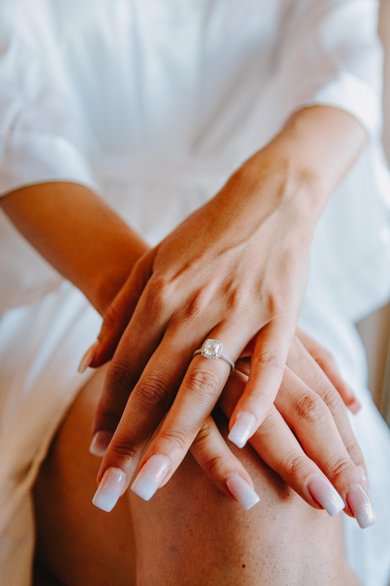 μονόπετρο γάμου