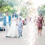 άφιξη νύφης στην εκκλησία