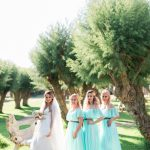 Summer wedding in Anavissos with pastel colors