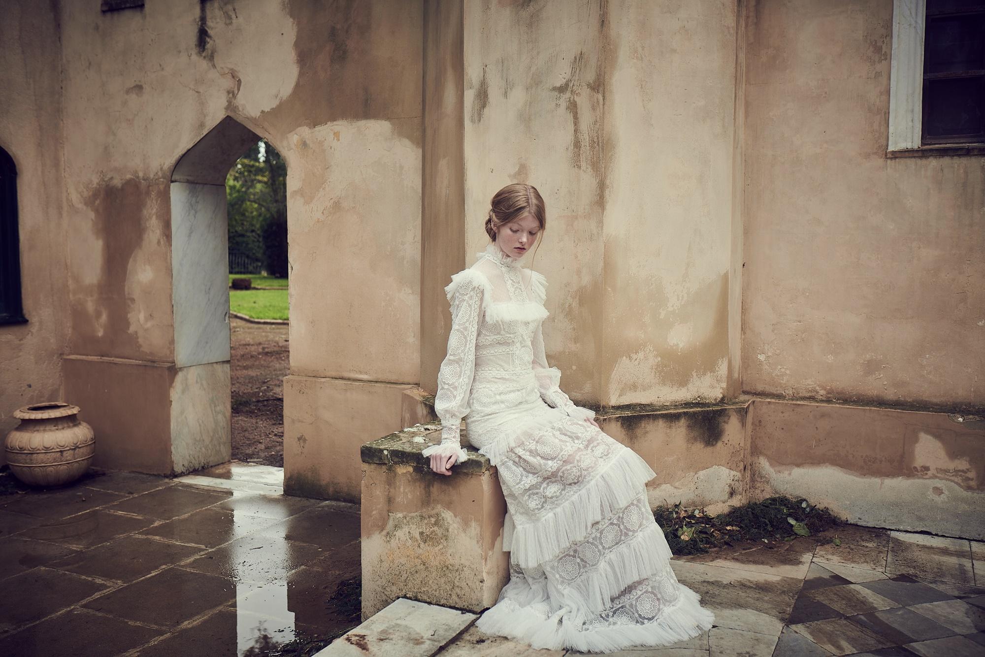 Stunning wedding dresses by Costarellos
