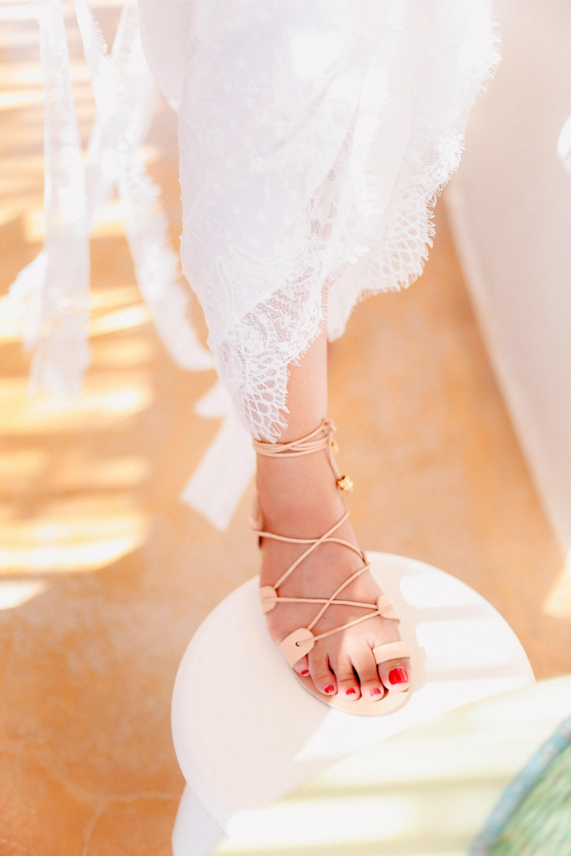 Whimsical summer wedding in Koufonisia
