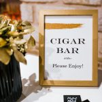 cigar bar γάμου