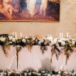 Winter wedding at a traditional winery