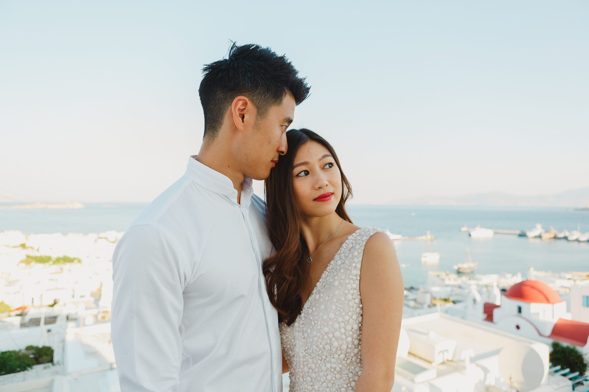 Engagement session at Mykonos