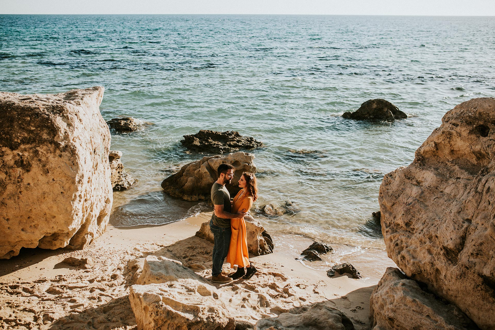Fall engagement session in Chalkidiki