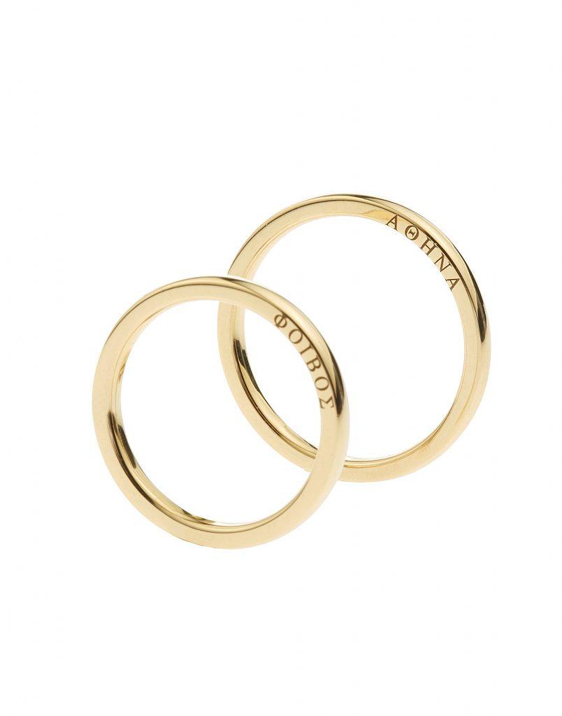 Βέρες γάμου από την KK Jewelry Lab
