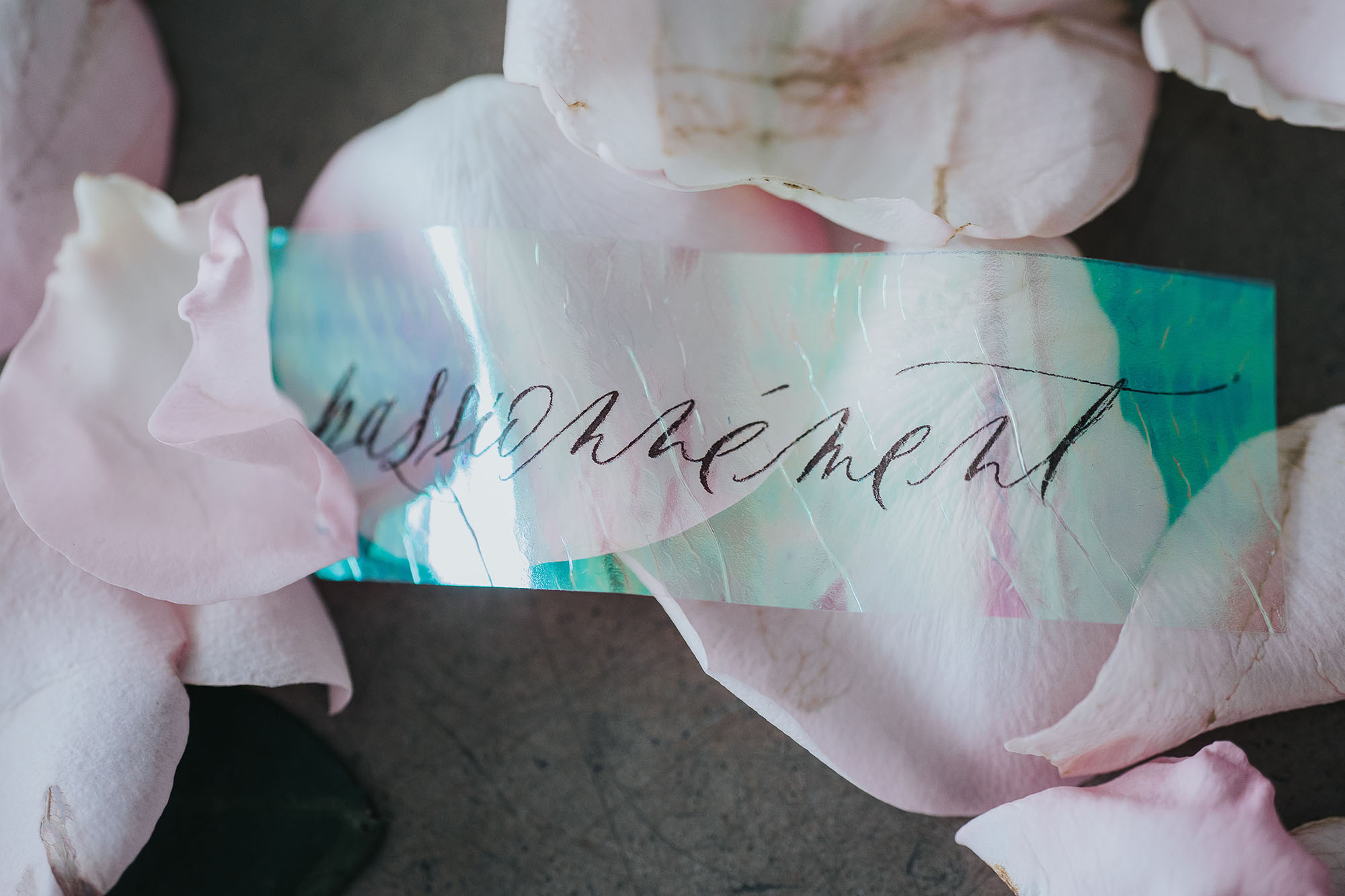 Ethereal & minimal inspirational shoot