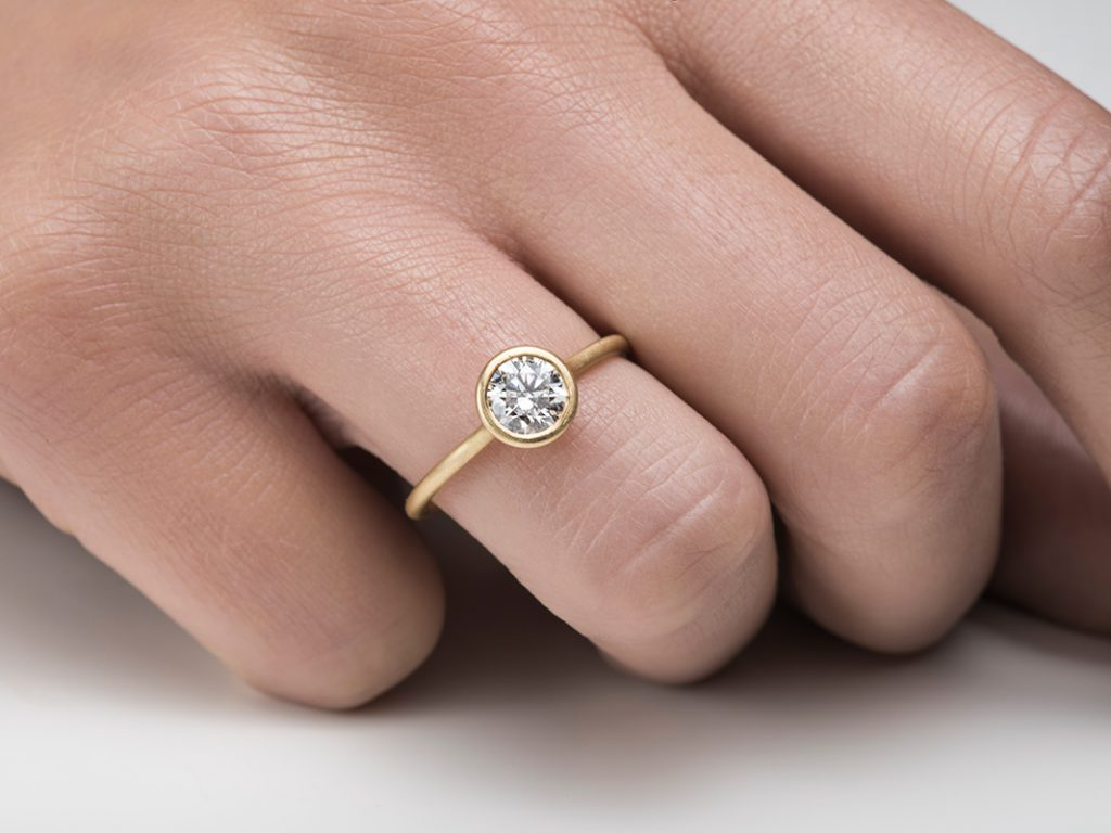 Unique engagement rings by KK Jewelry Lab