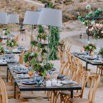 Μοντέρνος γάμος στην παραλία με έμπνευση από Μαρόκο