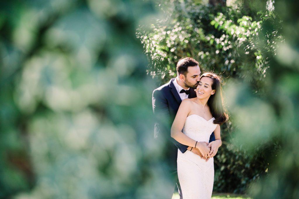 Σικ ρομαντικός γάμος με τριαντάφυλλα στο The Residence