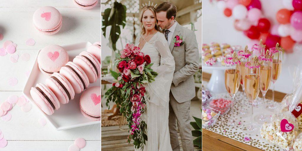 Plan a wedding on St. Valentine's Day