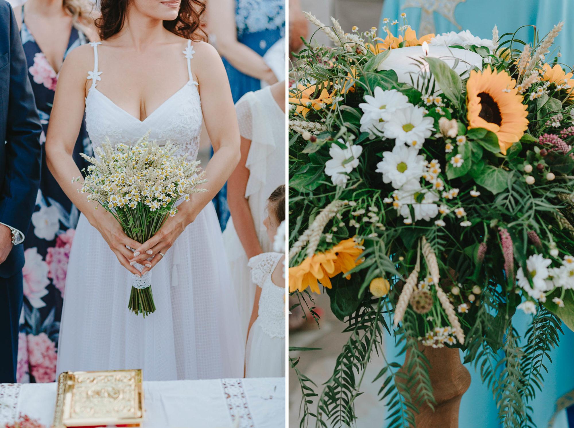 A summer wedding party at Kythnos