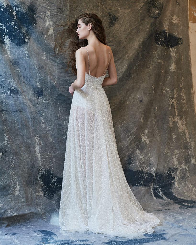 Unique ethereal wedding dresses by Vasia Tzotzopoulou