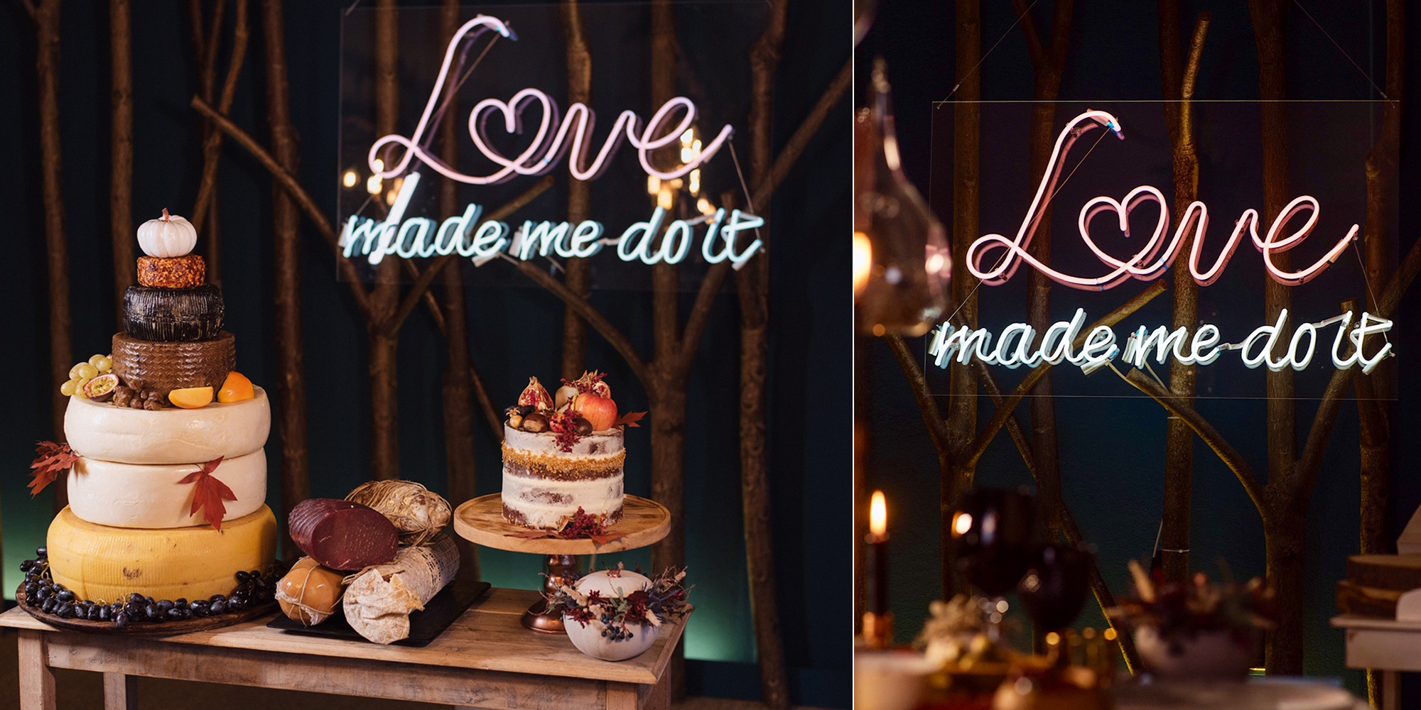 Neon wedding signs by The Letter Co.