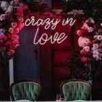 Neon wedding signs