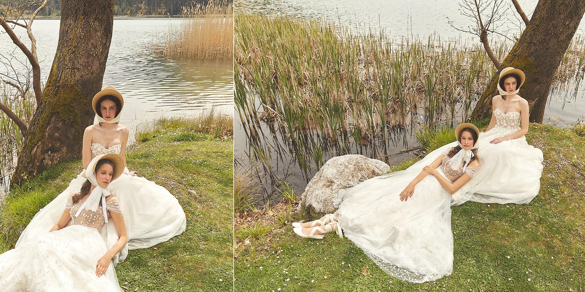 Dreamy wedding dresses by Mairi Mparola