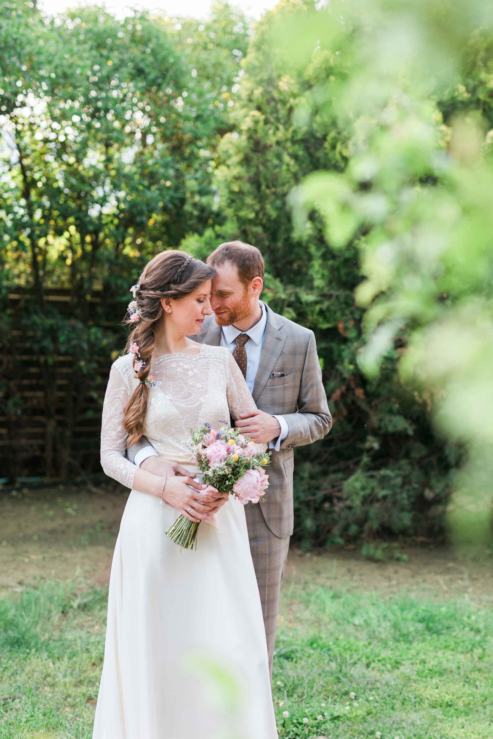 Spring rustic wedding in Athens