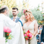 Colorful wedding in Athens