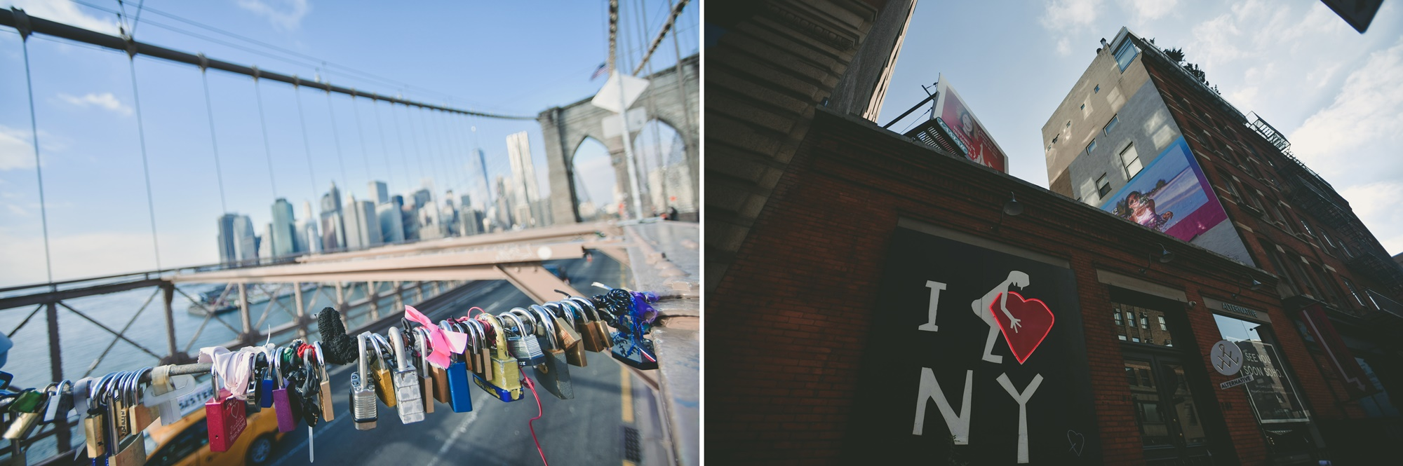 An engagement session in New York