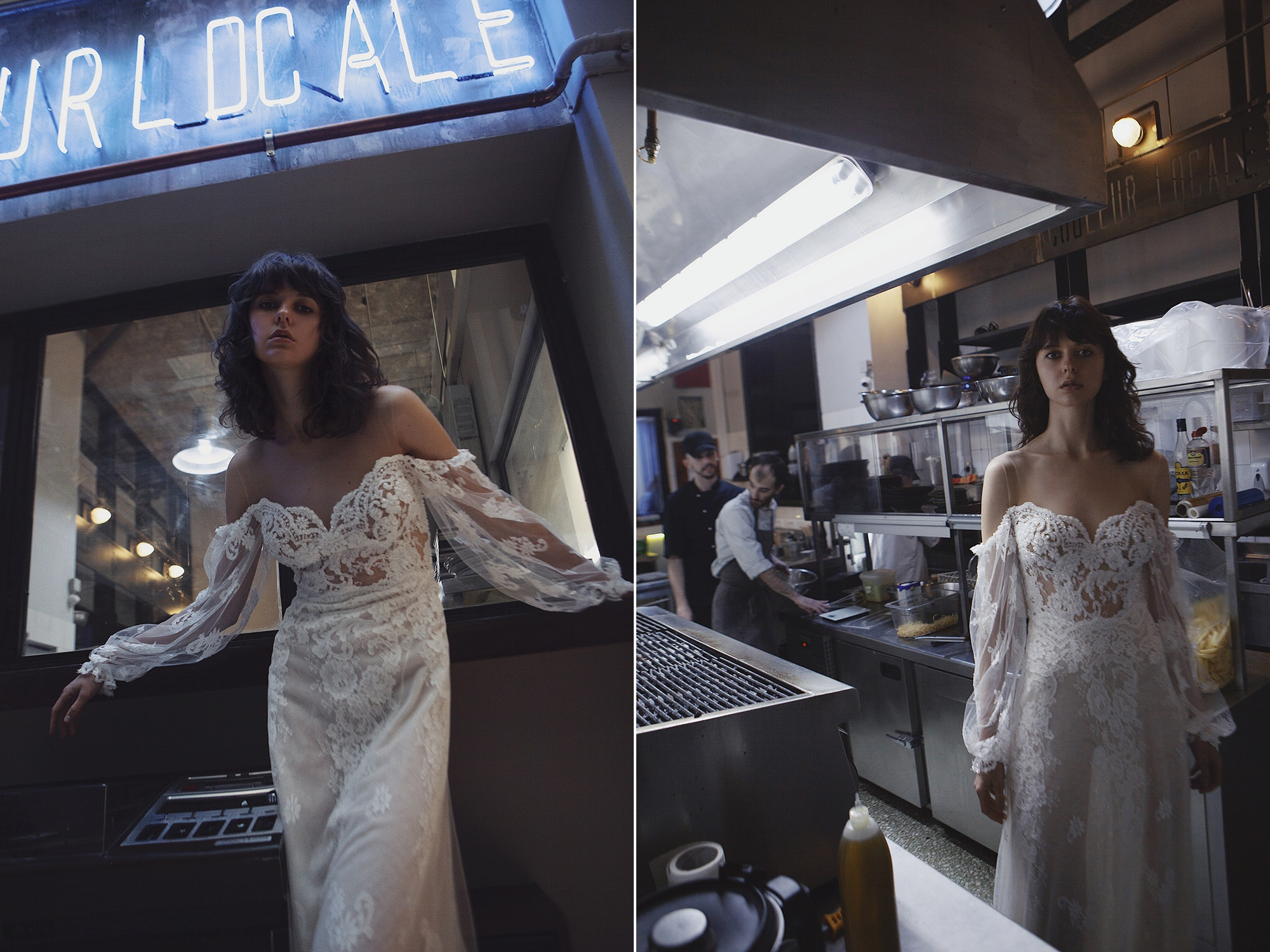 Dreamy wedding dresses by Mairi Mparola