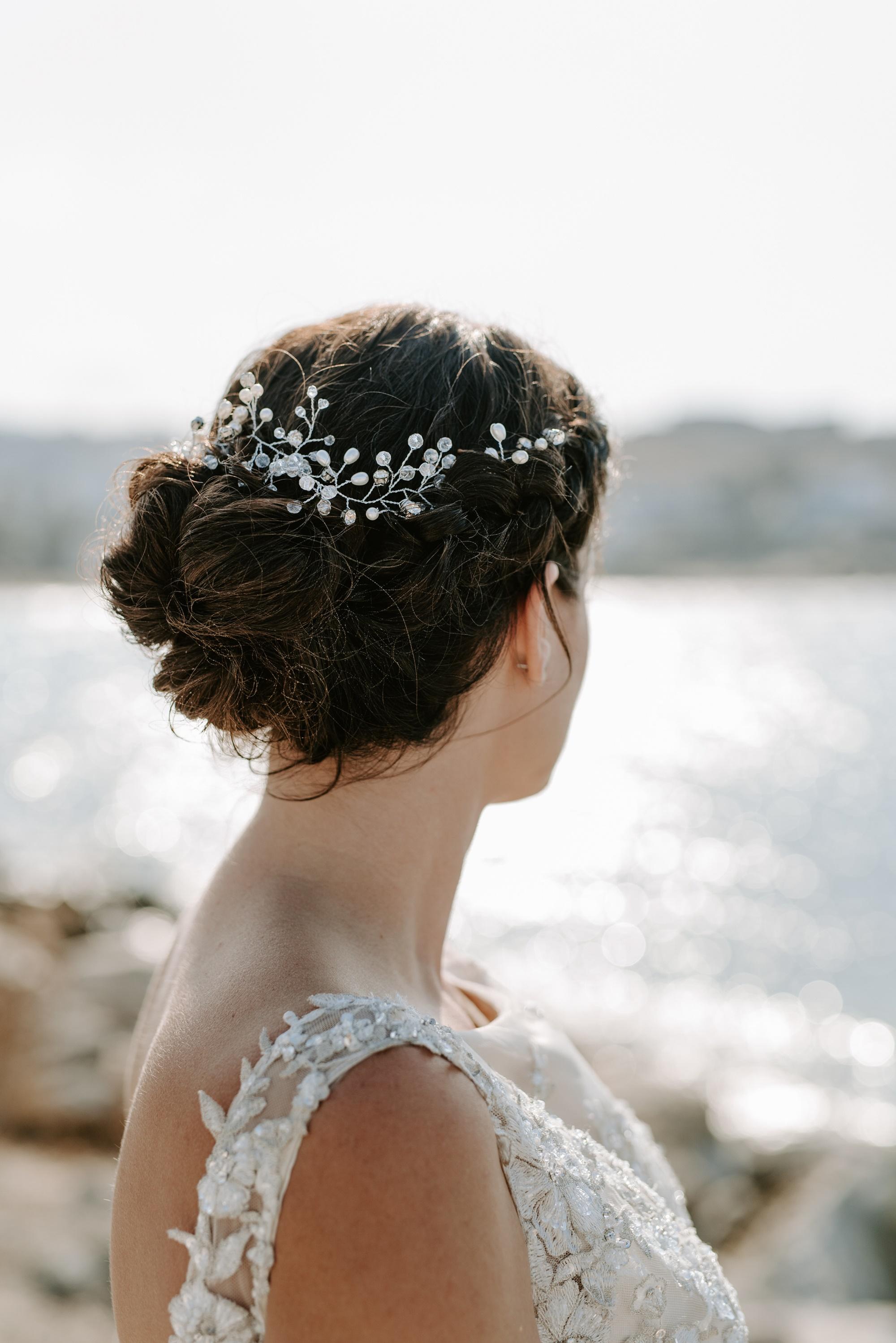 Fall romantic wedding in Paros