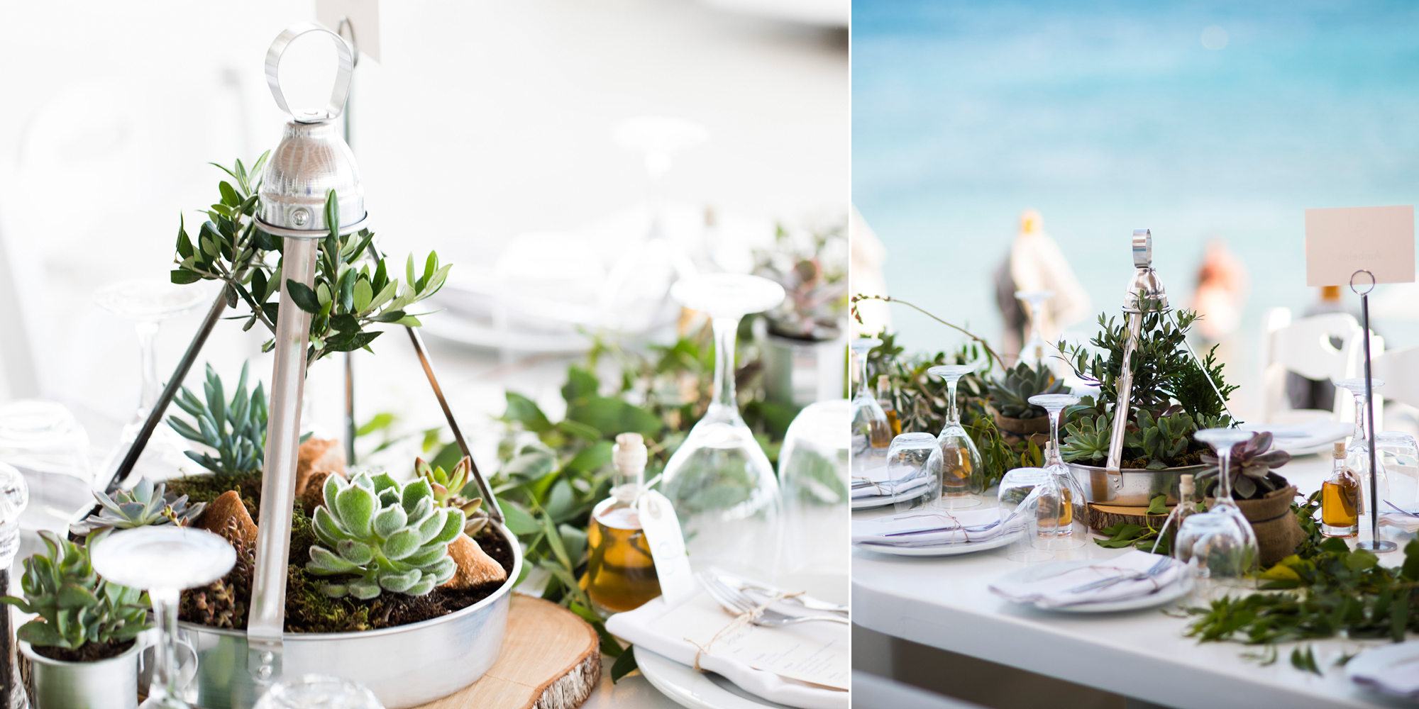 A summer wedding in Paros with two stylish grooms