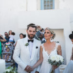 A stylish summer wedding in Antiparos