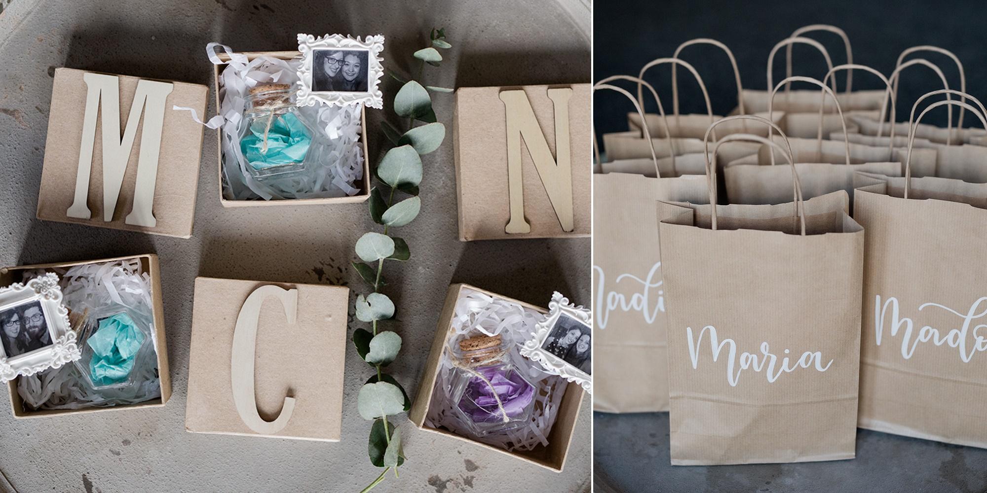 A DIY rustic wedding with eucalyptus & peonies in UK