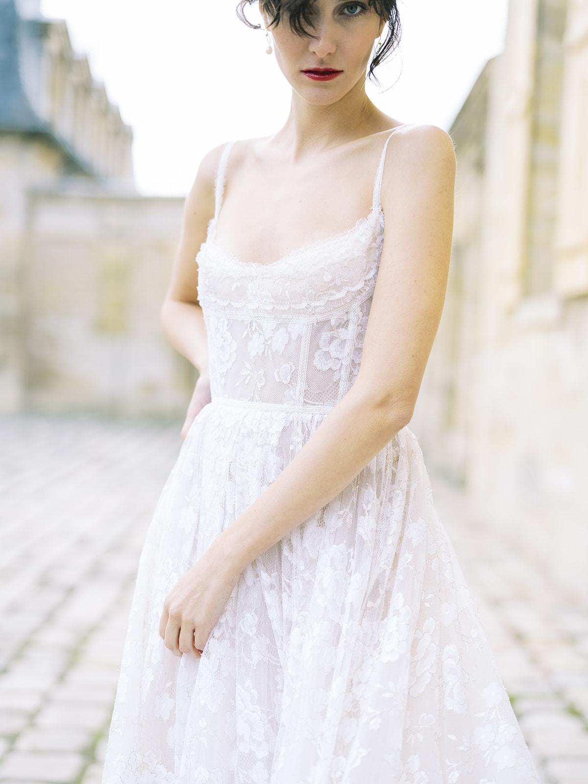 Εντυπωσιακή inspirational shoot στο Chateau de Villette με νυφικά Vasia Tzotzopoulou