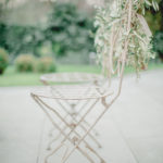 Inspirational shoot in a secret garden with baby breaths