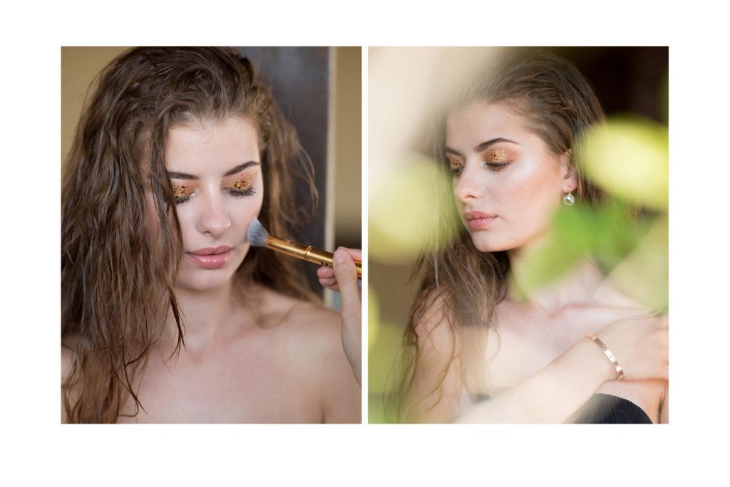 Νυφικό μακιγιάζ & χτένισμα Vassia Papakonstantinou