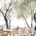 Φωτεινή ανοιξιάτικη inspirational shoot με ορχιδέες & pampas grass